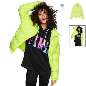 Brand New PINK Puffer Coat